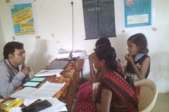 glimpses of ongoing training at various centers