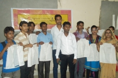 Apparel Training at various centers of SSF