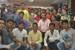 Glimpse of Guest lecture on Leadership skills by Mr Andrew Street from USA, at Our PMKVY Allahabad Centre, Our trainees have wonderful exposure & Learning experiences