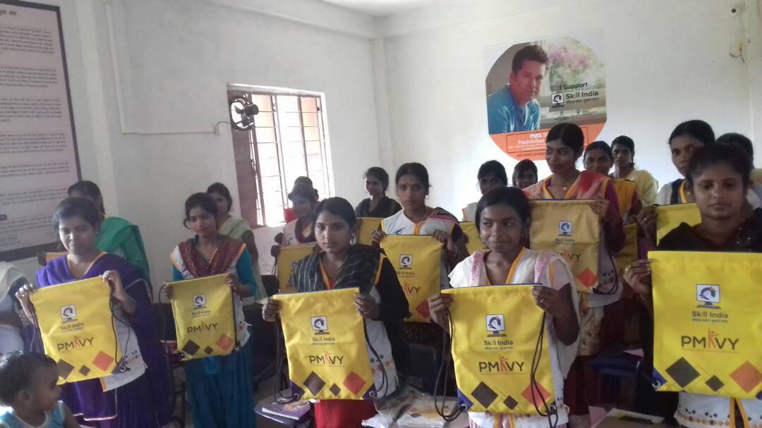 PMKVY centre in Ambedkar Nagar, Skill India, NSDC, SUNAINA SAMRIDDHI FOUNDATION