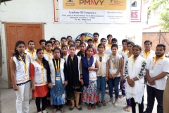 PMKVY training At SUNAINA SAMRIDDHI FOUNDATION