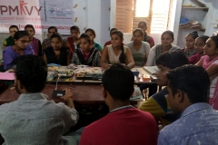 Ongoing PMKVY Training at our JAMNAGAR Centre, SUNAAINA SAMRIDDHI FOUNDATION
