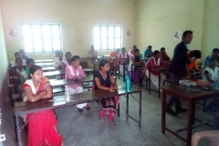 PMKVY Training at Sunaina Samriddhi Foundation Centre at Maharajganj, Uttar Pradesh