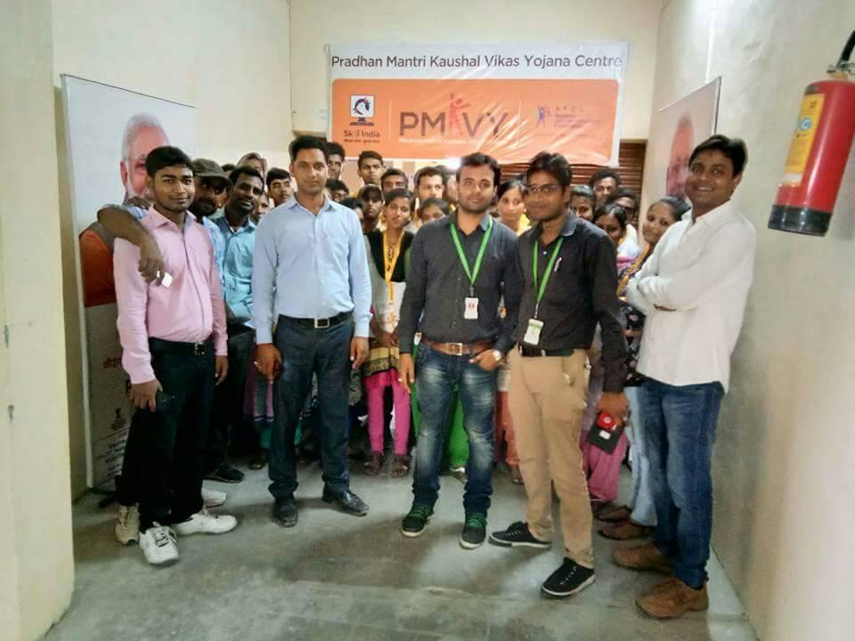 PMKVY Assessment at muzaffarpur, Bihar , SUNAINA SAMRIDDHI FOUNDATION