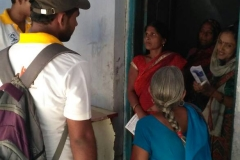 Our trainees creating door to door awareness drive about PMKVY and how it will benefit their lives & Future, In remotest Villages of Muzaffarpur , Bihar