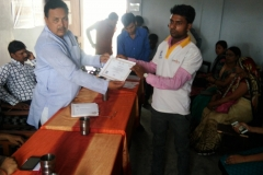 PMKVY Cetrificate Distribution at Maharajganj, SUNAINA SAMRIDDHI FOUNDATION
