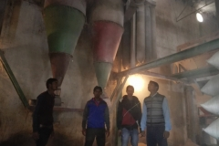 glimpses of ongoing training of Grain Mill Operator at Siwan