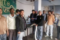 glimpses of ongoing training at Mathura, Butter & Ghee